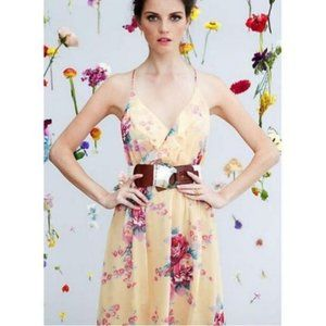 Anthropologie meadow rue floral dress